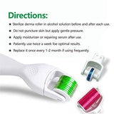 Derma Roller Colorful 3 In 1-0.25Mm/0.3Mm/0.3Mm Titanium Micro Needles - Microdermabrasion Exfoliating Roller Skin Care Tool