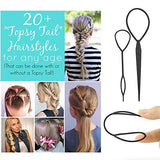 Topsy Tail Hair Styling Tool, Hair Braid Hair Accessories Ponytail Maker, Pony Tail Tool For Women