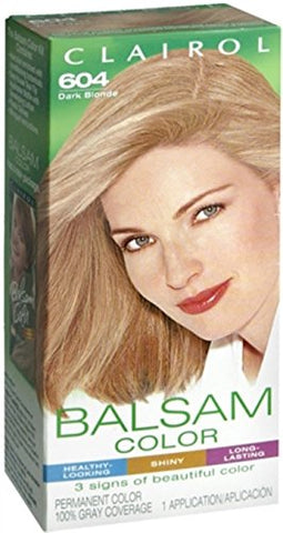 Balsam Permanent Color - 604 Dark Blonde 1 Each