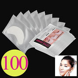 Baisidai 10/30/50/100Pcs Under Eye Pads Patch Taps For Diy False Eyelash Lashe Extension Makeup (100Pcs)