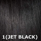 Janet Collection Retro Glam &Amp; Vibe Clip-In U-Type Wig - 1B Straight (1 Jet Black)