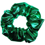 Metallic Spandex Scrunchies 3 Sizes Ponytail Holders Scrunchie King Made In The Usa