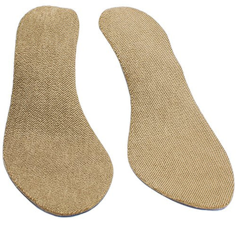 Soxsols Antislip Cotton Flat Insert For Sockless Shoes Machine Washable Dryer Safe For Women Size Us 9 Euro 40