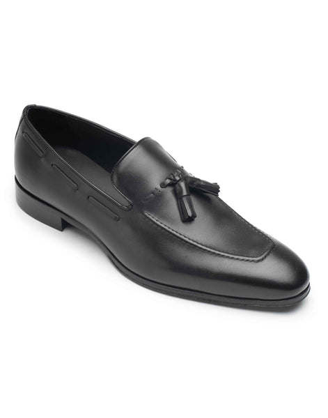 Black Tassel Loafer-HBDAR008