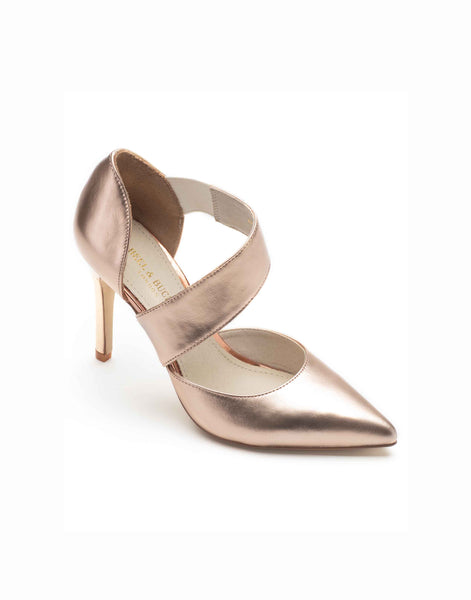 Rose Gold High Vamp Stiletto-A8181-59