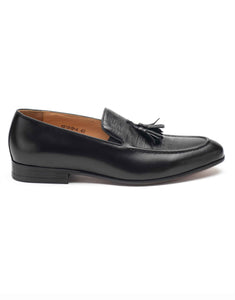 Charcoal Tassel Loafer-YD1818-4