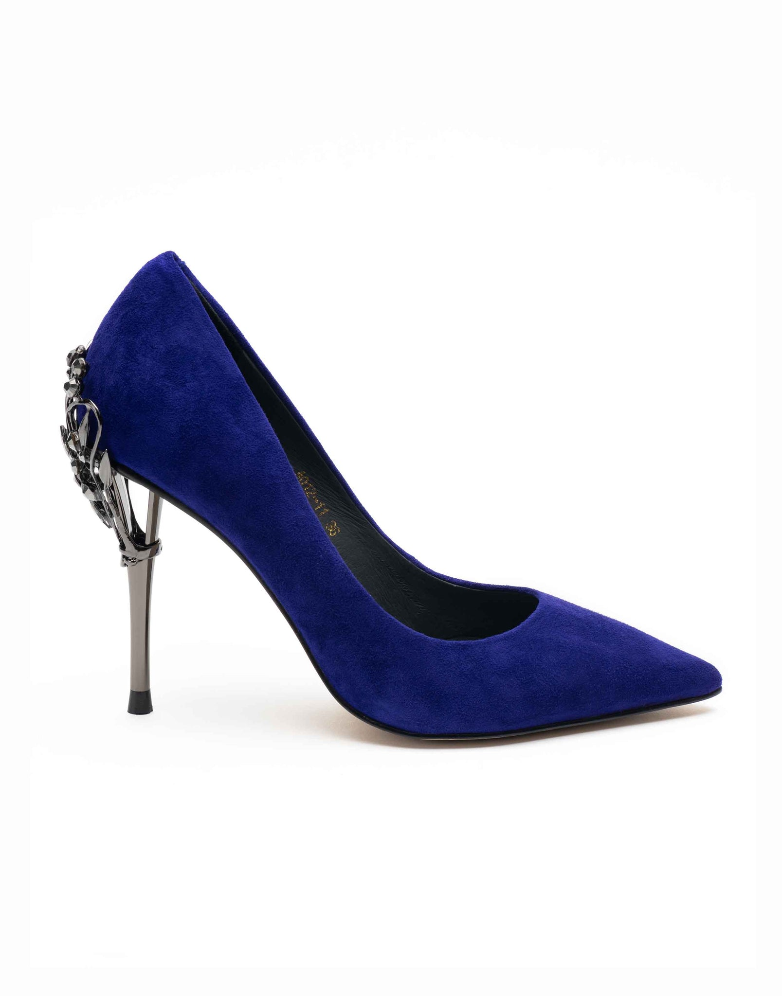 Cobalt Point Toe Pump-A012-11