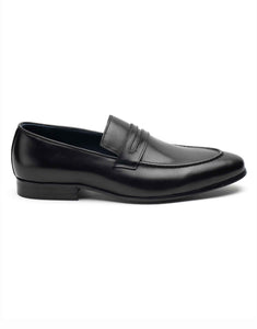 Charcoal Penny Loafer-RE3677-002