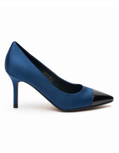 Blue & Black Two-Tone Pump