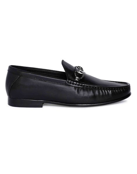Charcoal Horse-bit Loafer