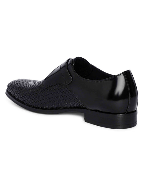 Charcoal Woven Single Monk