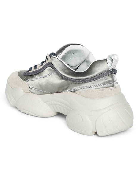 Metallic Chunky Sneakers