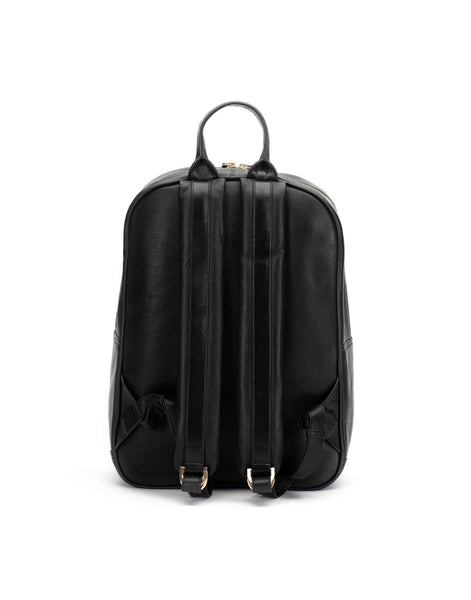 Black Center Zip Backpack