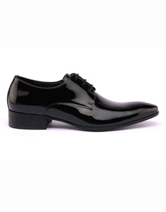 Black Patent Derby