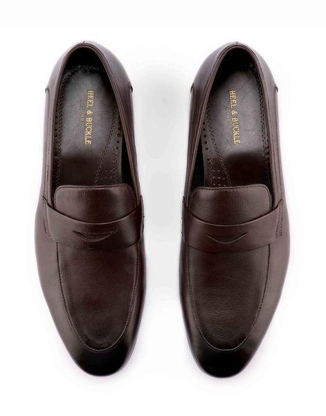 Dark Brown Penny Loafer