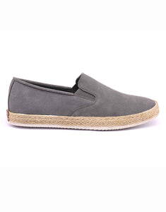 Powder Blue Suede Espadrilles