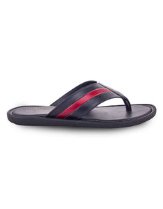 Black With Red Strips Slip-on