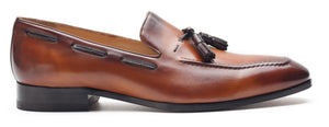 Heel & Buckle London Plain Tasselled Loafers