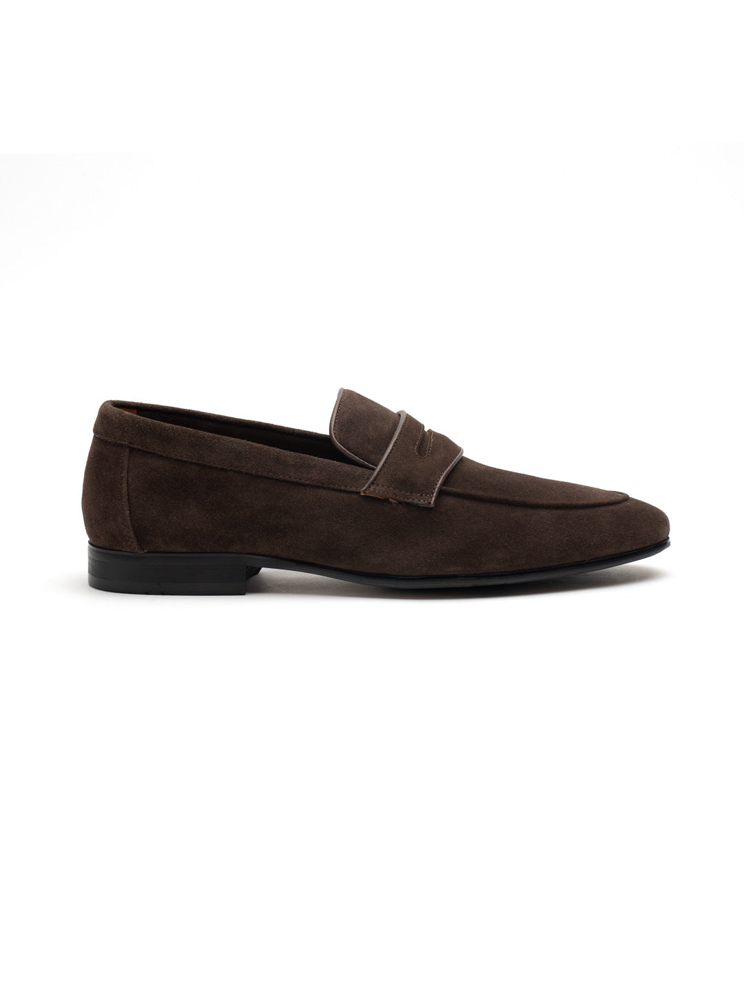 Mosey Brown Penny Loafers