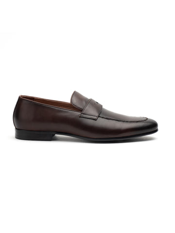 Diverse Brown Penny Loafers