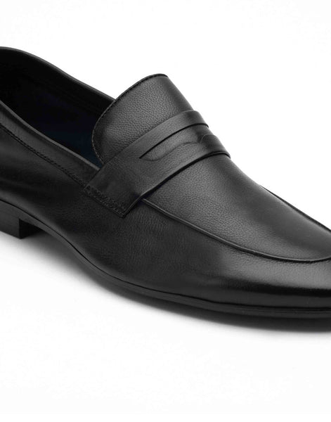 Ascetic Charcoal Loafers