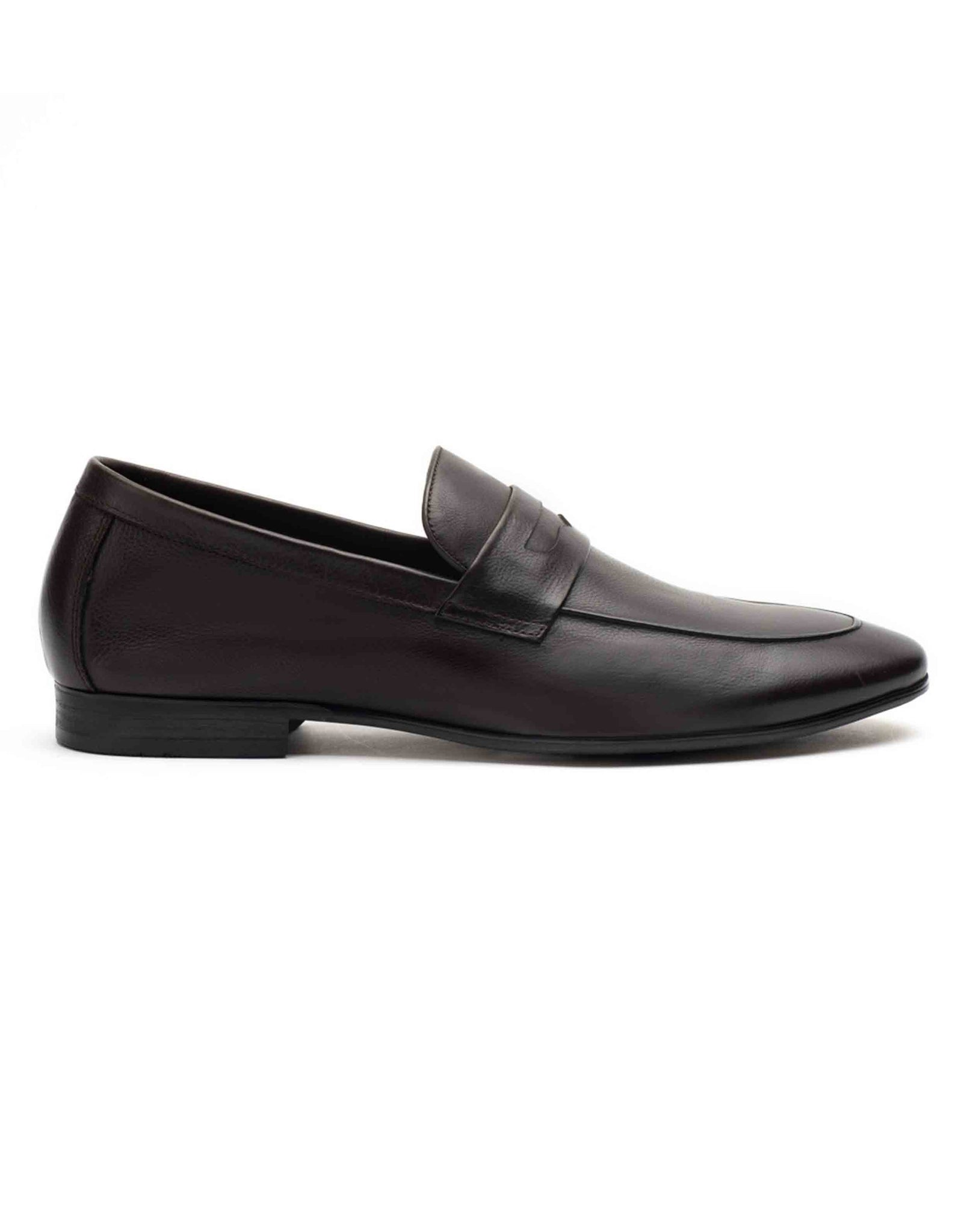 Ascetic Dark Brown Loafers