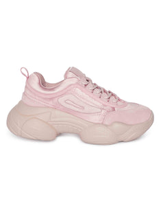 Rose quartz Chunky Sneakers