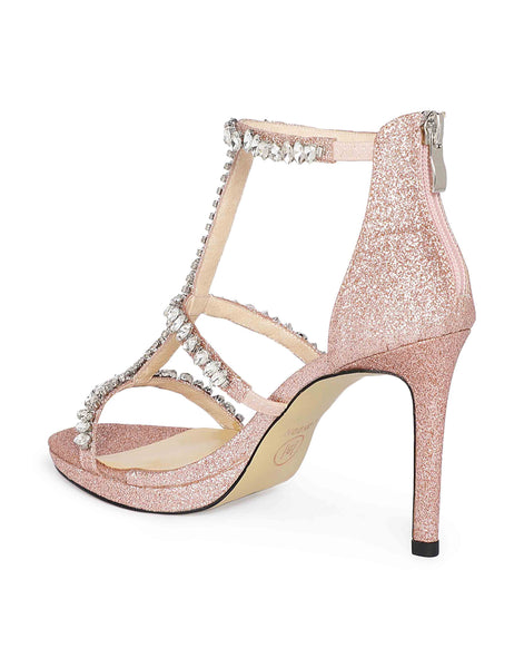Rose Gold Shimmery Heels