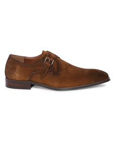 Tan Suede Single Monk