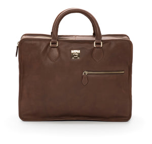 Brown Soft Briefcase