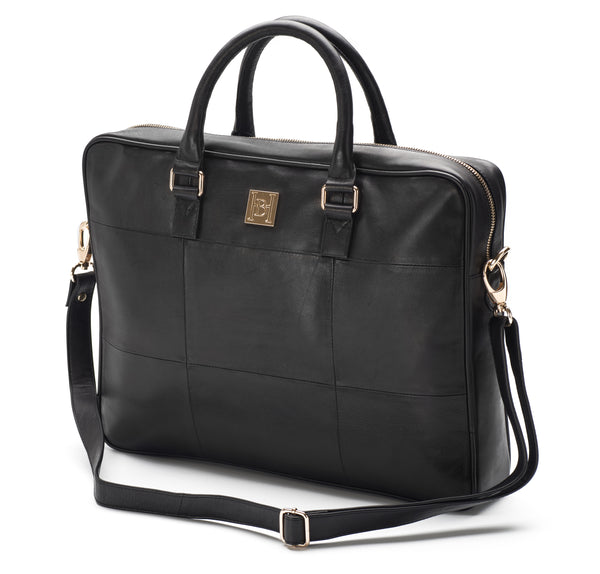 Black Soft Briefcase