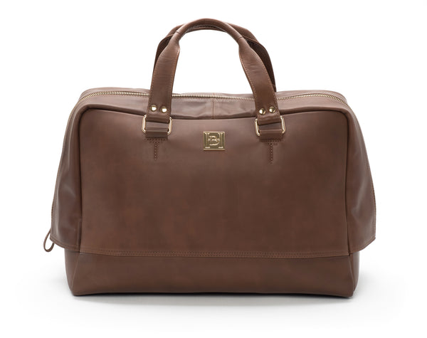 Brown Bowling Bag