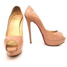 Load image into Gallery viewer, Christian Louboutin Litght Pink Patent Leather Pumps
