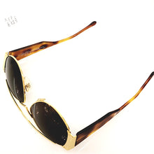 Load image into Gallery viewer, Oscar de la Renta Brown 1980's Sunglasses