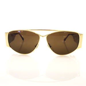 Oscar de la Renta Brown 1980's Sunglasses