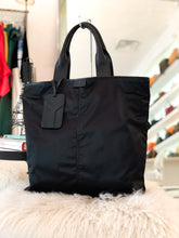 Load image into Gallery viewer, SAINT LAURENT, Black Nylon Y Shopper Tote