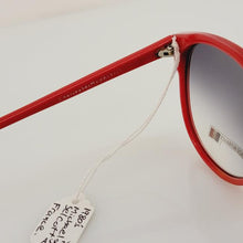Load image into Gallery viewer, Michael Selcott Red 1980's Sunglasses