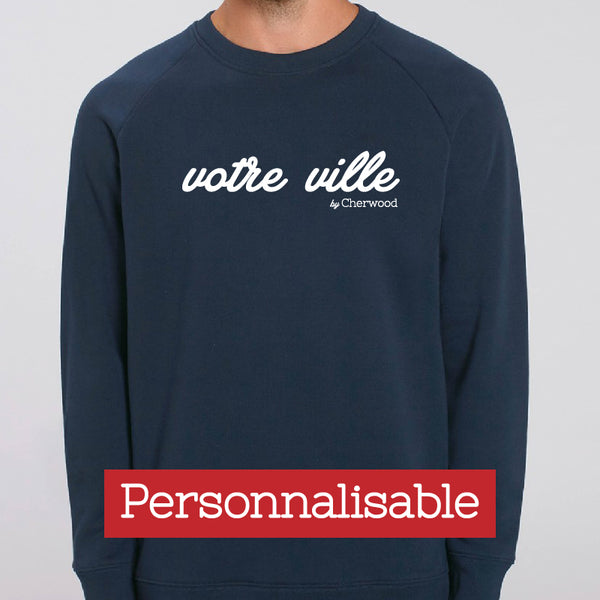 Sweat homme navy Personnalisable