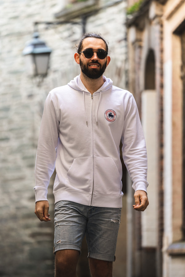 "Hoodie mixte zippé ""Cherwood Official Team"""