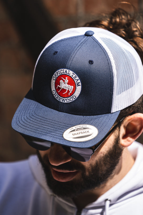 Casquette Snapback navy Cherwood Official Team