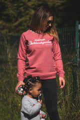 "Sweat Femme ""Maman Cherbourgeoise"""