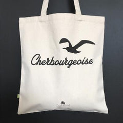 Sac Tote Bag - Cherbourgeoise Mouette