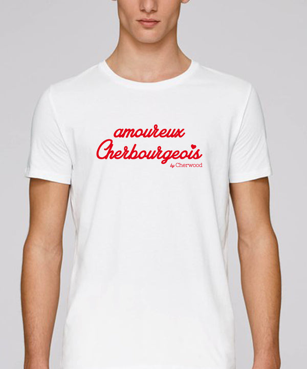 T-shirt Homme Amoureux Cherbourgeois