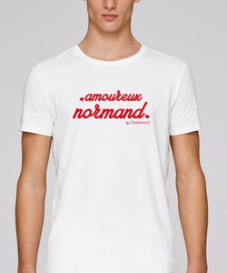 "T-Shirt Homme ""Amoureux Normand"" ♥"