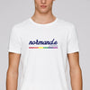 "T-shirt mixte ""Normand.e Rainbow"""