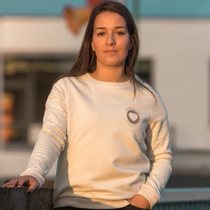 "Sweat femme brodé ""Normande à l'interieur"""