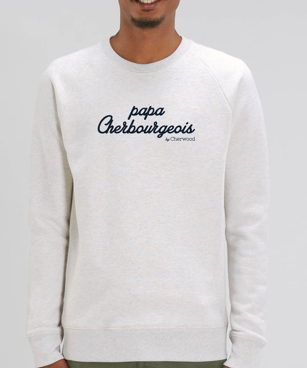 "Sweat Homme ""Papa Cherbourgeois"""