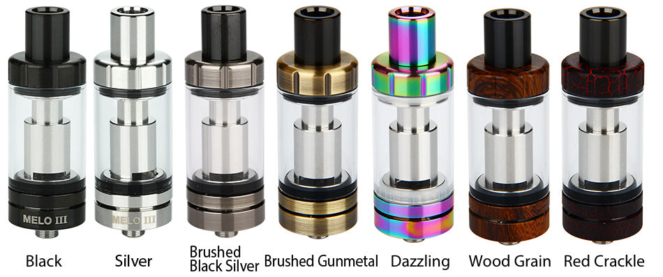 Eleaf Melo 3 Atomizer 4ml All Colours