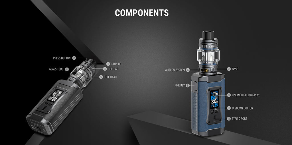 SMOK Morph 2 230W Mod Kit with TFV18 Tank 7.5ml