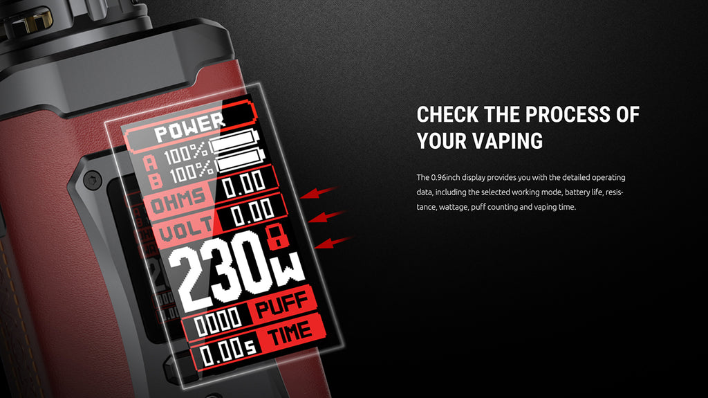 SMOK Morph 2 230W Mod Kit with TFV18 Tank 7.5ml | Vapelink Australia